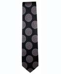 Dots Tie in Black