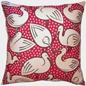 Ibis Pillow in Red