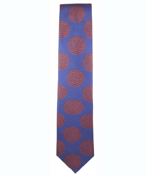 Dots Tie in Lavender - Click Image to Close