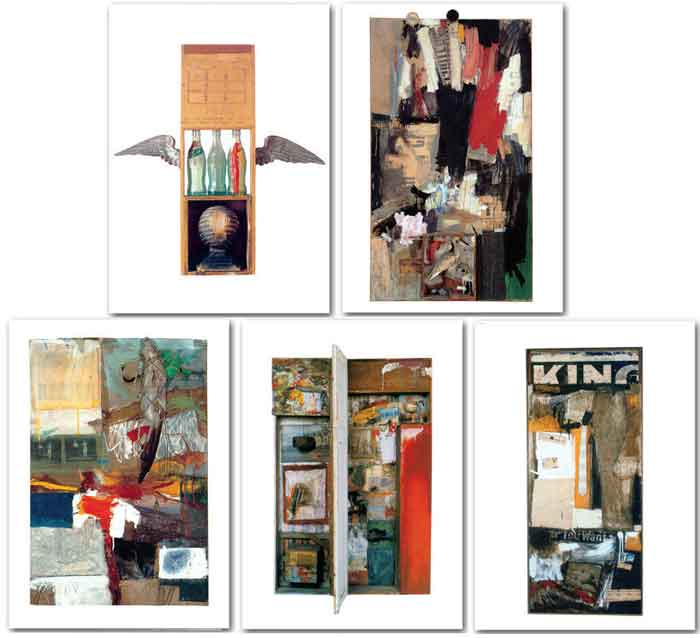 Robert Rauschenberg Note Card Set - Click Image to Close